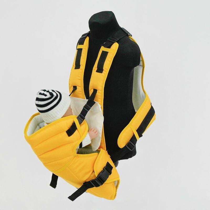 Гр Рюкзак-кенгуру №12 (1) цвет темно-желтый