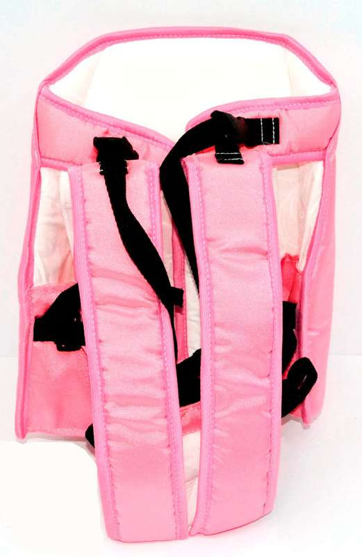 Гр Рюкзак-кенгуру №7 (1) сидя,цвет розовый.Предназначен для детей с тр