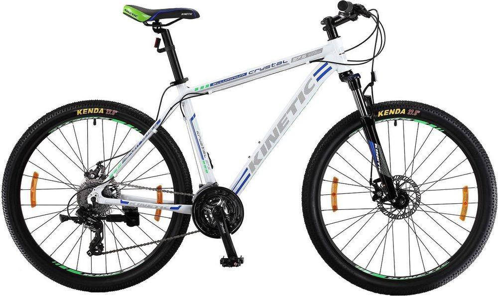 "Горный велосипед KINETIC CRYSTAL 27,5"" 21""  Белый/Серый"