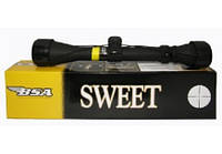 Прицел оптический BSA Sweet 3-9х32 MilDot, прицелы переменной кратности, оптика на оружие, оружейные прицелы, фото 1