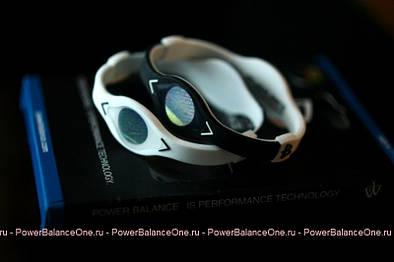 Оригинальный энергетический браслет Power Balance черный