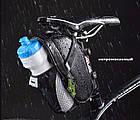 Велосумка подседельная RockBros с креплением для бутылки, фото 5