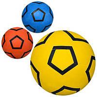 Мяч футбольный VA 0037  размер 5, резина, 350г, 3 цвета,