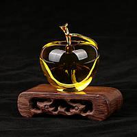 Оригинальный Подарок яблоко из кристала пресс-папье!