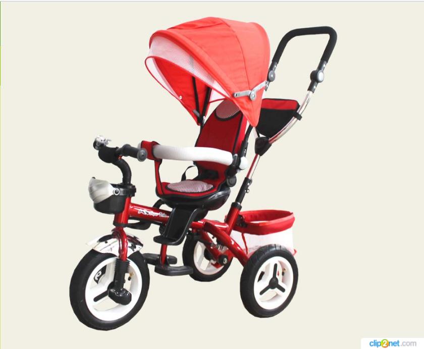 Велосипед детский 3-х колесный  TR105 красный ***