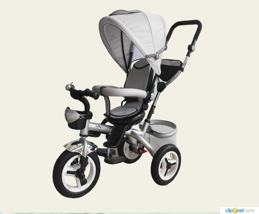 Велосипед детский 3-х колесный TR107 серый***