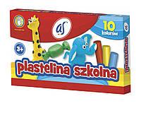 Пластилин 10цв AS 83812904