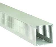 Короб 30х30 перфорированный 4х5 цвет серый, не горючий / Короб 20х20 перф.   4х5  колір сірий  не підтримує го