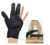 Термоперчатки для парикмахеров на три пальца