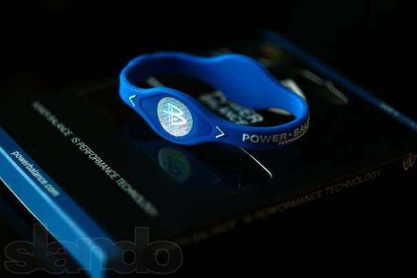 Оригинальный энергетический браслет Power Balance синий