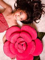 Оригинальный, креативный подарок для любимой - Мягкая подушка в форме Розы