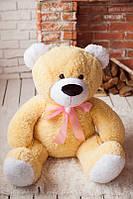 Лучший подарок для любимой девушки - Мягкий медвеженок, карамельный