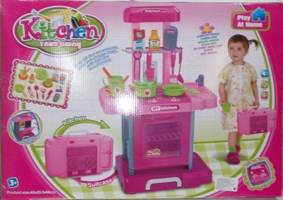 Игровой набор Кухня в чемоданчике Kitchen 661-60 ***