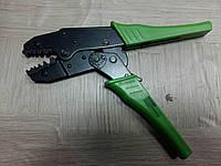 Клещи Обжимные для втулочнх наконечников hs04wf Зеленые Ручки  0,75-10 Сечения