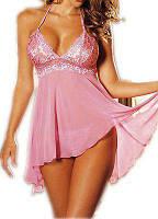 Шифоновая женская ночная сорочка, пеньюар, разные цвета и размеры.