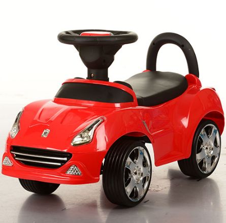 Машинки-каталки Bambi HZ-603-3, красная ***