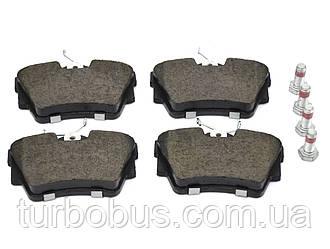 Дисковые тормозные колодки (задние) на Renault Trafic III 2014-> Meyle (Германия) - MY0252398017/PD