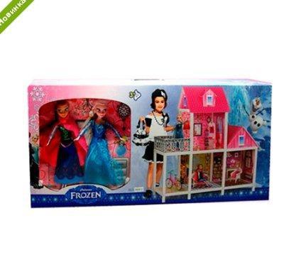 Кукольный домик Frozen с террасой 66913 ***