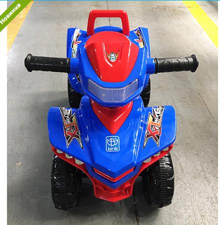 Машинка-каталка Baby Mix M 3502-4-3 сине-красный ***