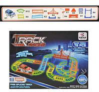 Track Racing 9002CD светящаяся гибкая дорога (аналог Magic Tracks) 78 деталей