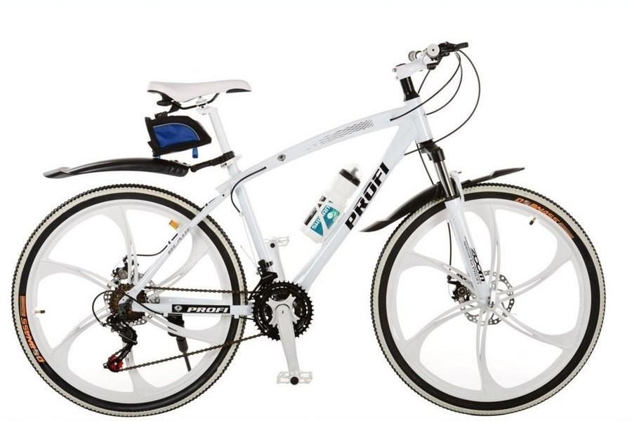 Спортивный велосипед Profi BLADE 26.1W лопастные колеса 26 дюймов (бел