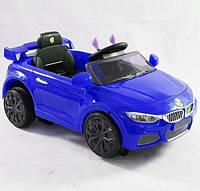 Детский электромобиль трансформер робот БМВ C1732 синий ***