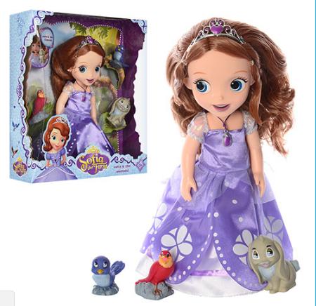 Кукла  Принцесса София с друзьями  ZT8809 ***
