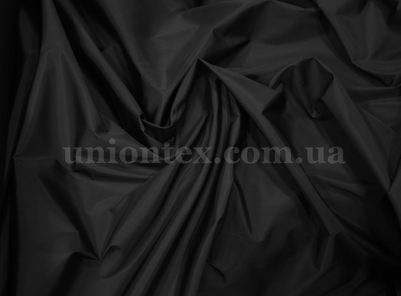 Плащевка мемори черная