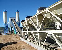 Стационарный бетонный завод HZS 120 CHANGLI