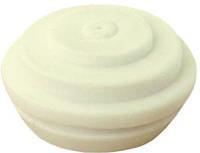 Сальник диаметр 36 mm, силиконовый уплотнитель, (отверстие 34мм) цвет - белый IP34