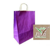 Пакеты цветные с витыми ручками  (190х110х300)