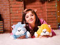 Маленькая плюшевая игрушка Котика на подарок для вашей любимой, голубой