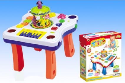 Развивающий музыкальный столик Карусель 668-63 ***