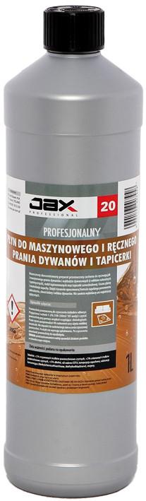 """Засіб для чищення килимів та оббивки JAX Professional """"20"""""""