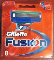 Сменные кассеты для бритья Gillette Fusion (5+1) 8 штук