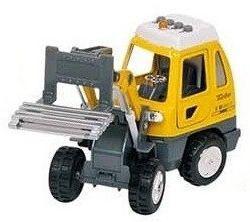 Детская металлическая машинка Goki Погрузчик 12107G-1