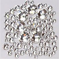 Стразы кристалл,  стекло  Crystal Clear, МИКС РАЗМЕРЫ,   1440шт. Аналог стразSwarovski , ЕСТЬ ОПТ!, фото 1