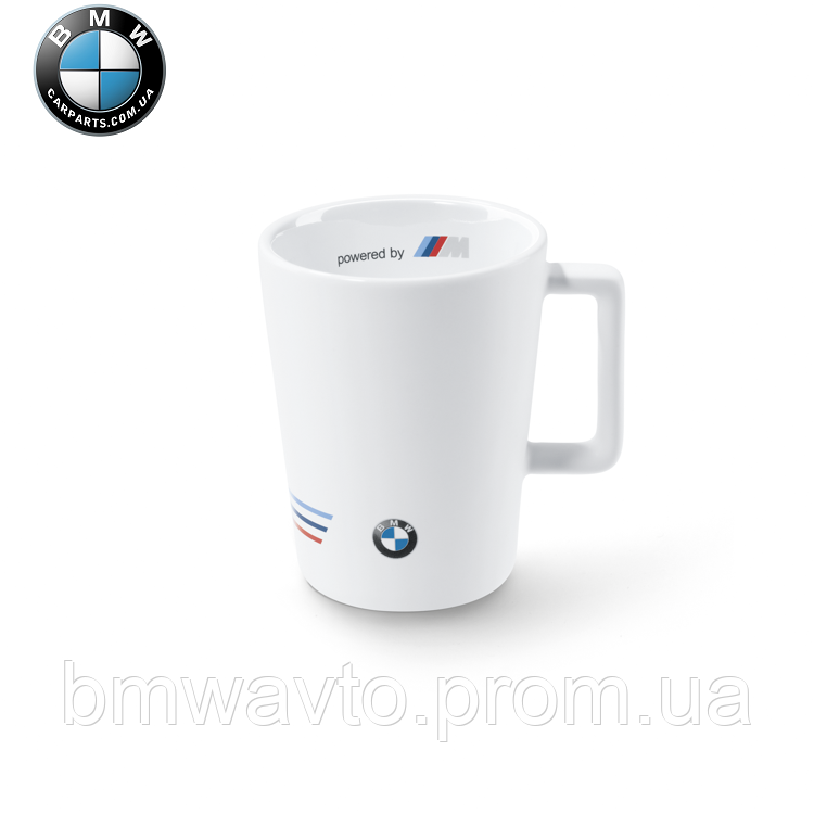 Кружка керамическая BMW Motorsport Coffee Mug White 2015