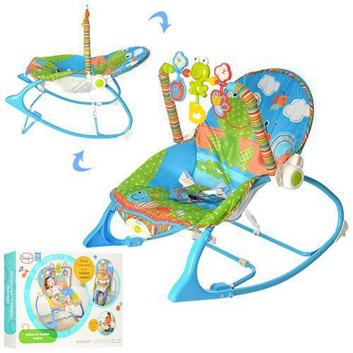 Шезлонг-кресло-качалка 'Лягушонок' до 18 кг BB 7033 ***