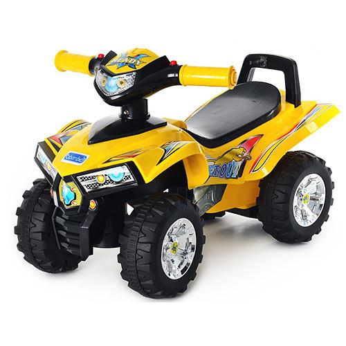 Машинка-каталка Baby Mix HZ-551-6, желтая ***