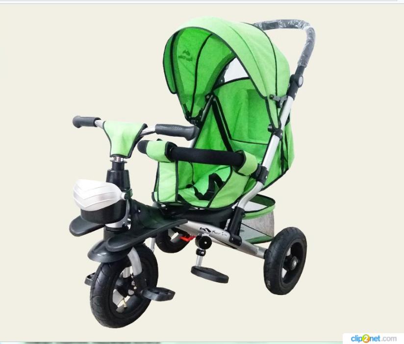 Велосипед детский 3-х колесный TR20107 зеленый ***