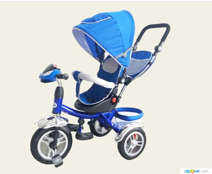 Велосипед детский 3-х колесный TR012  синий  ***