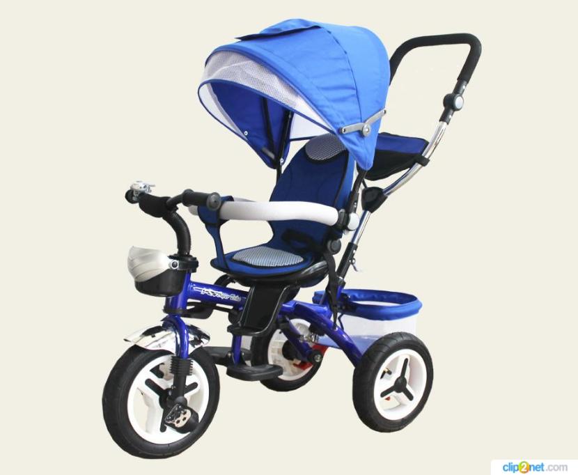Велосипед детский 3-х колесный   TR102  синий***