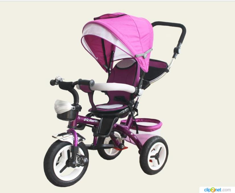 Велосипед детский 3-х колесный TR106 фиолетовый***