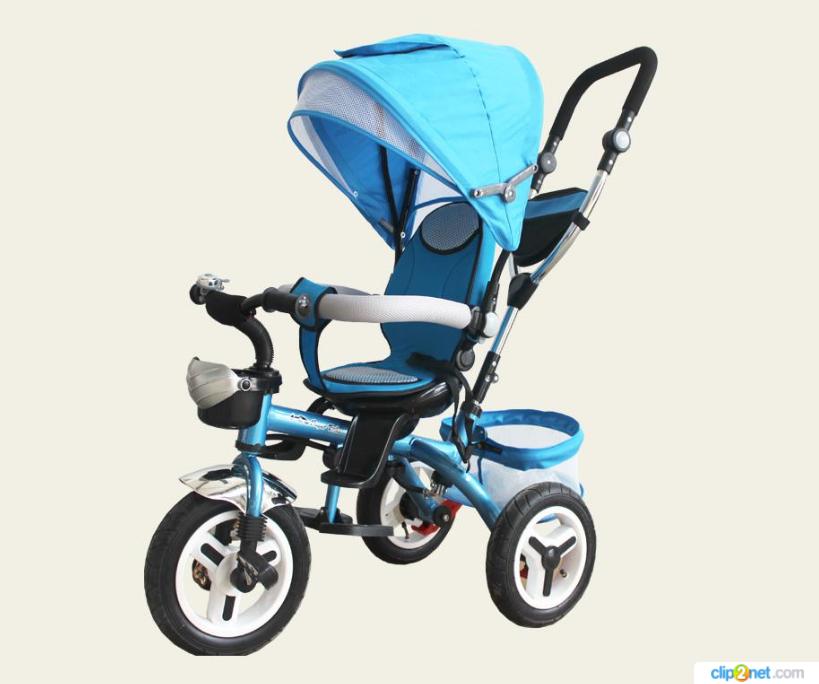 Велосипед детский 3-х колесный TR103  голубой***
