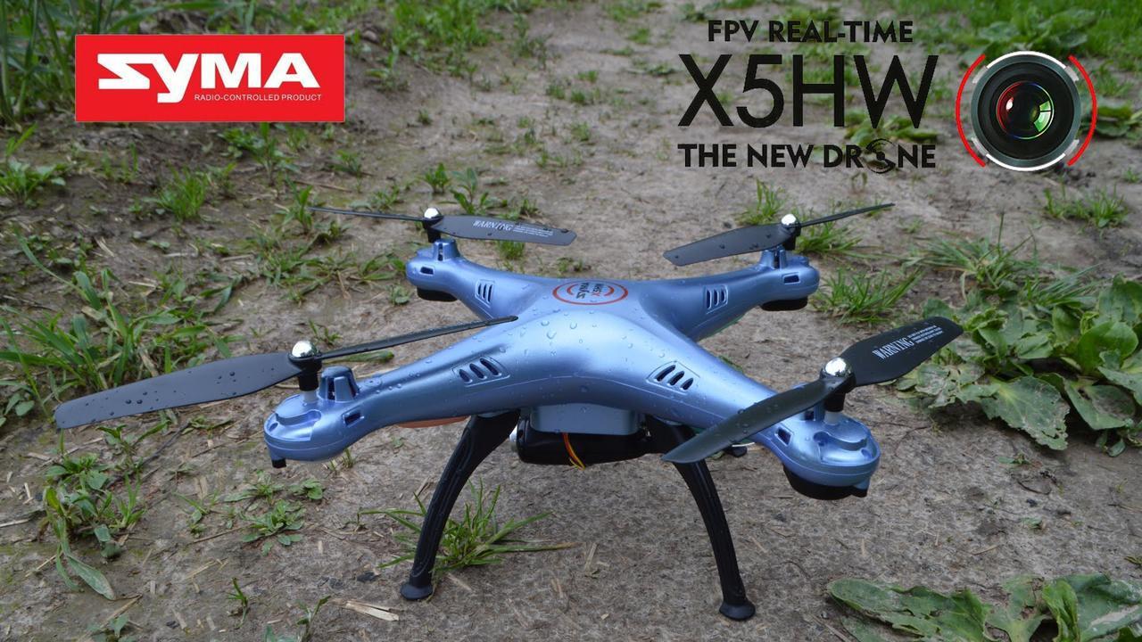 Радиоуправляемый квадрокоптер Syma X5HW с Wi-Fi камерой   ***