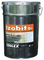 Бітумно-каучукова мастика IZOBIT BR 18 кг.