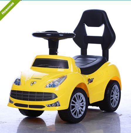 Детская каталка-толокар Bambi FD-6803-6 желтая  ***
