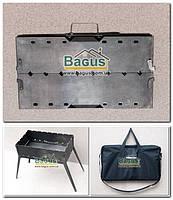 Мангал-трансформер на 8 шампуров (2мм сталь) без съемных деталей с чехлом Storehouse SHMG8-1, фото 1