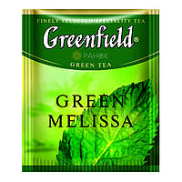 Зелений чай Greenfield Green Melissa (100 шт) Меліса